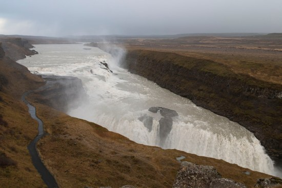 Gulfoss, one of Iceland's most popular waterfalls