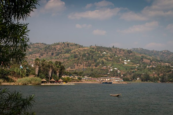Lake Kivu views