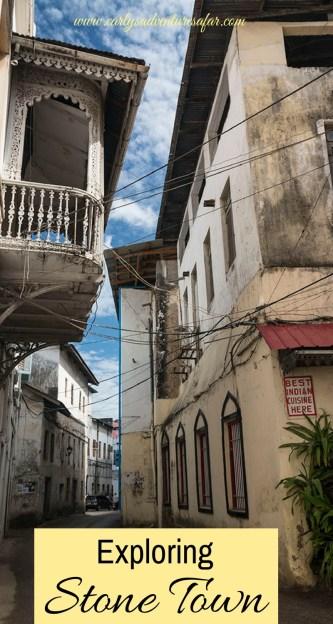Exploring Stone Town, Zanzibar