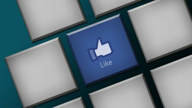 Facebook keyboard