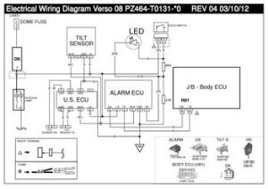 2009 Toyota Verso  VSS1 Electrical wiring diagram (LHD