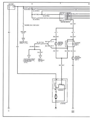 Acura Integra 9093 Wiring Diagrams DOWNLOAD