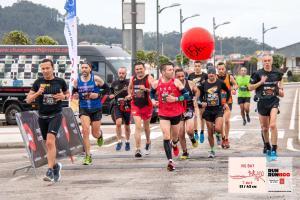 El maratón Vig Bay de Lete