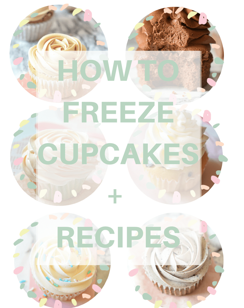 How to freeze cupcakes in 3 steps Lots of tips