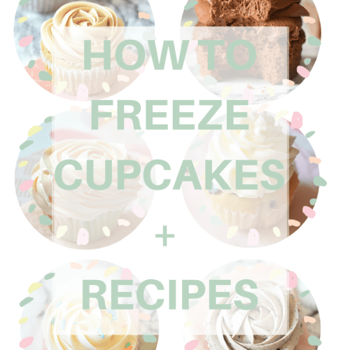 How to Freeze Cupcakes to keep them fresh longer! I use this tips all the time and they are