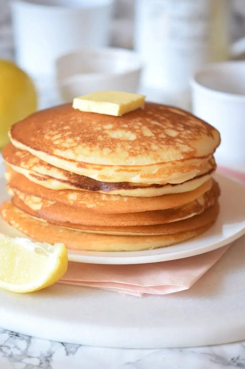 Easy lemon pancake recipe you 39 ll want to eat everyday for Award winning pancake recipe