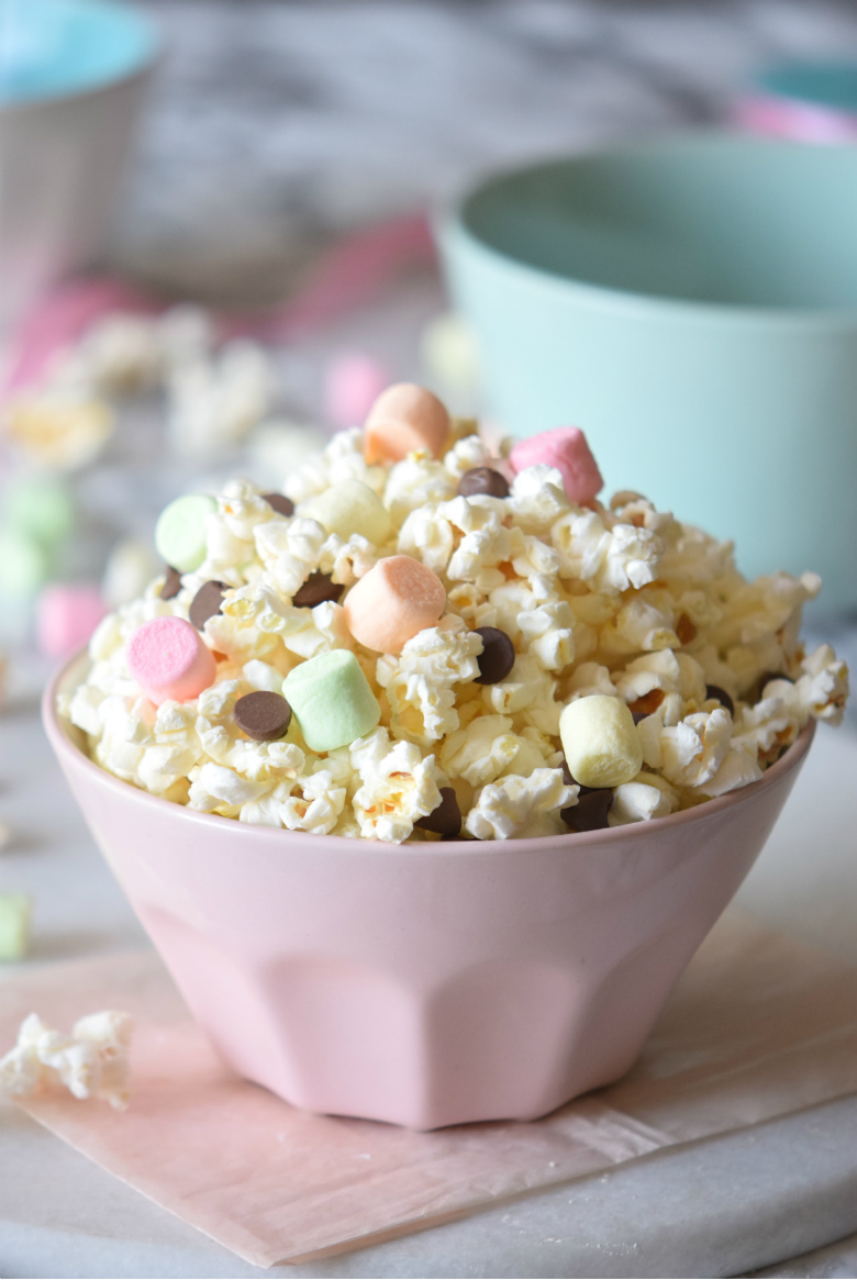 unicorn smore popcorn mix carmela pop