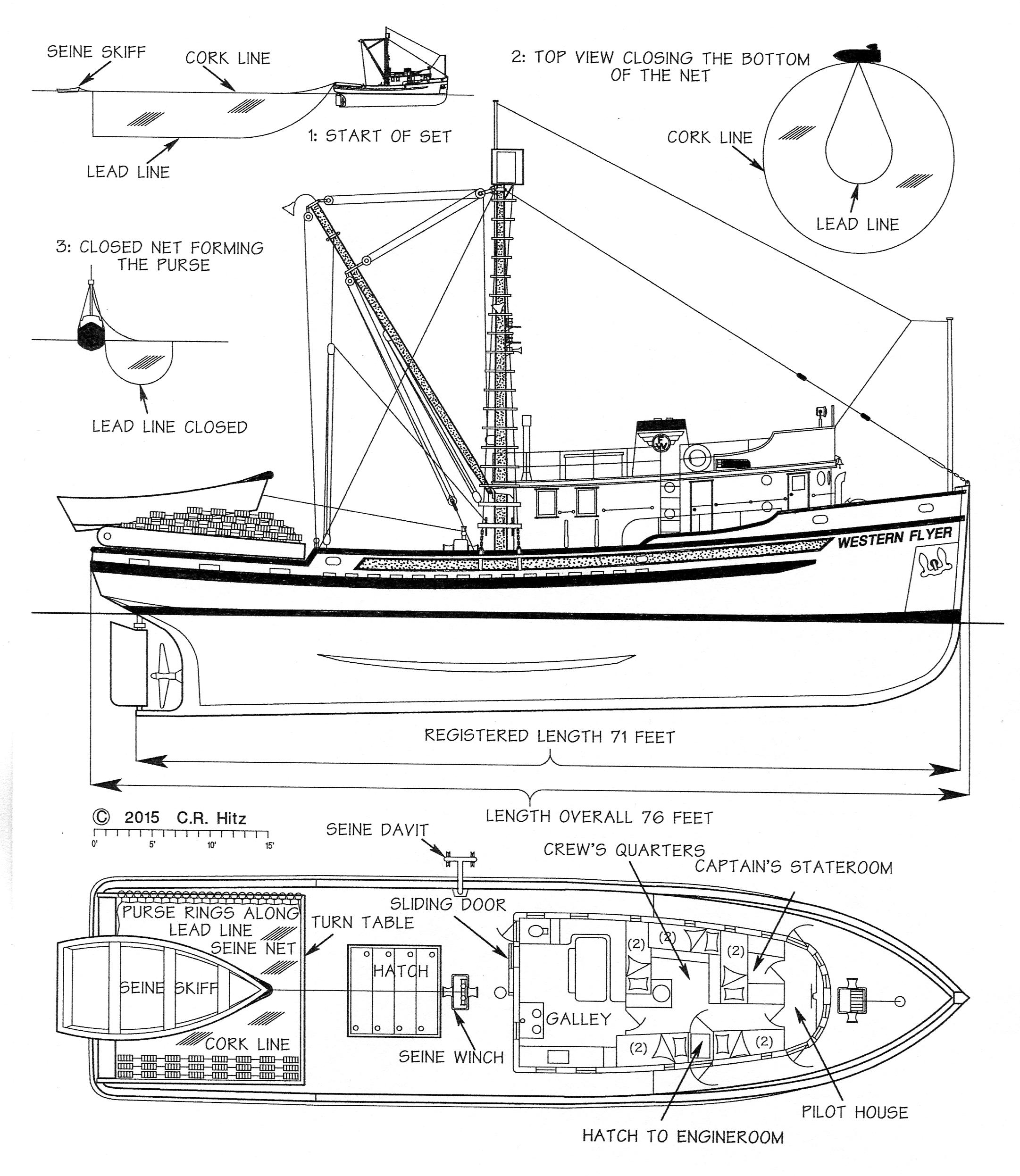 Western Flyer Built As A Seiner