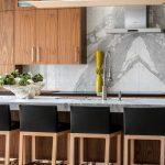 Calacatta Marble Backsplash Slab Carmel Stone Imports Palo Alto Monterey Ca
