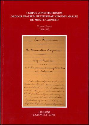 Corpus Constitutionum Carmelitana