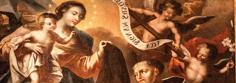 The Scapular…a Sign of Mary's Motherhood