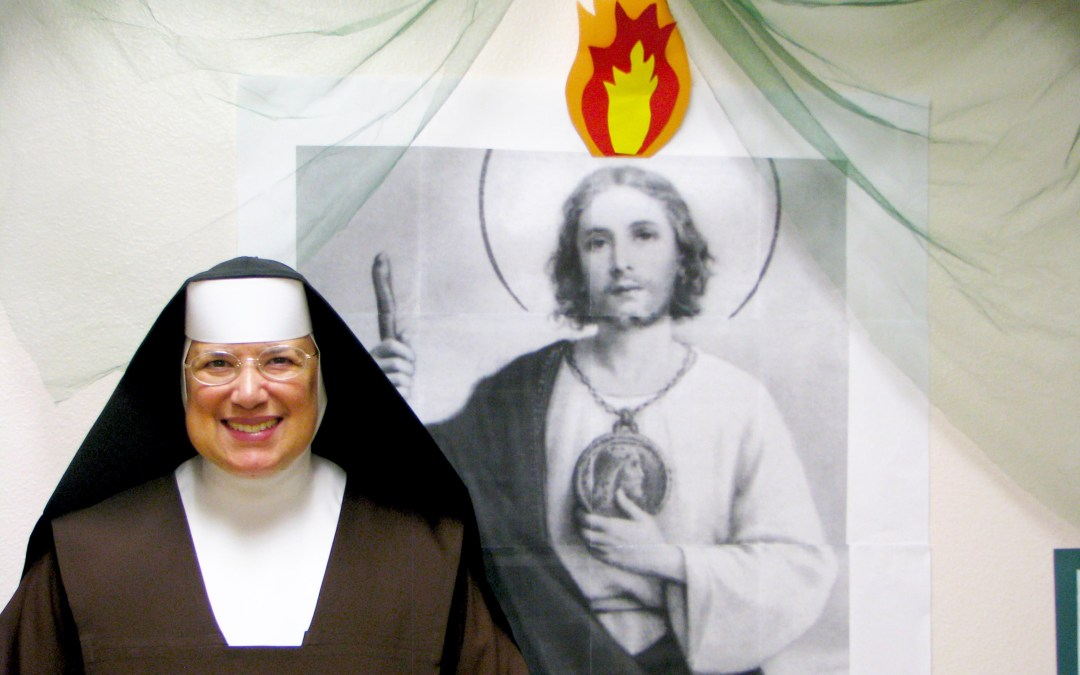 Thank You, God, for St. Jude and for our Mother Judith