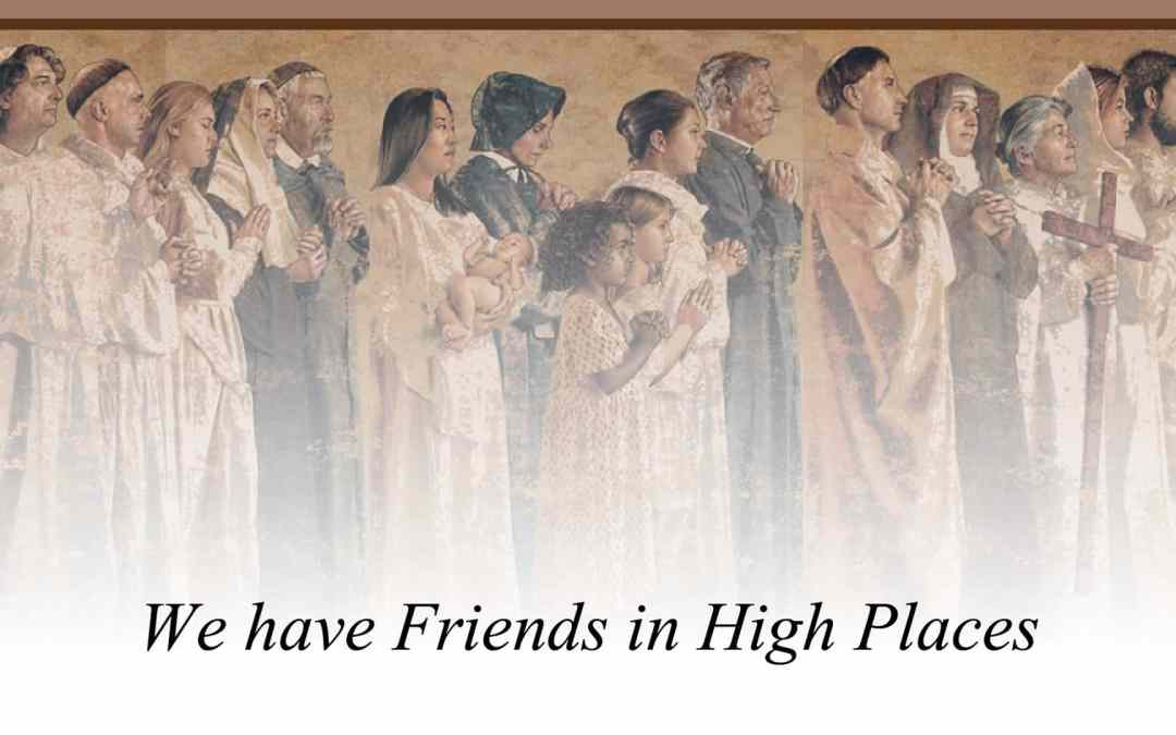 Friendship with the Saints