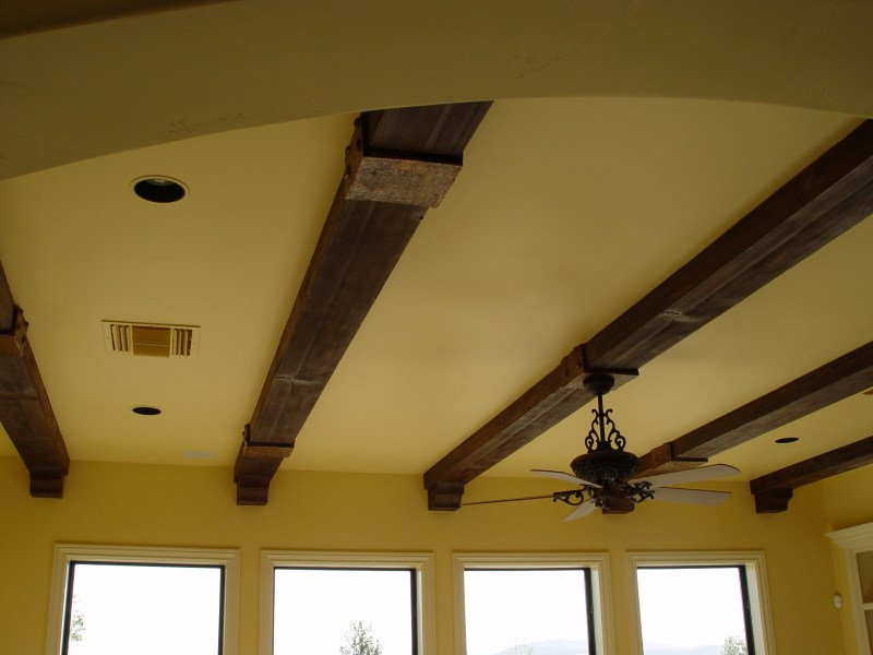 ELEVATE YOUR CEILINGS WITH FAUX WOOD BEAMS   carmellalvpr faux wood beams   Realm of Design