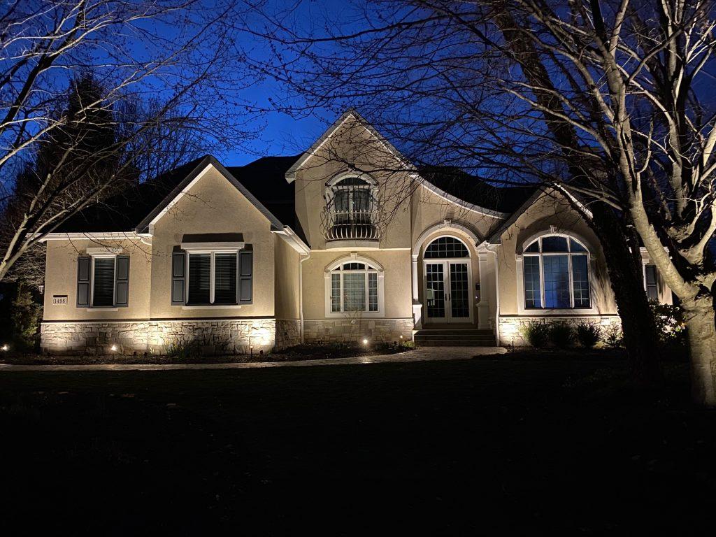 landscape illumination outdoor