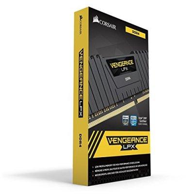 (Corsair CMK16GX4M2A2400C14 Vengeance LPX Memoria per Desktop da 16 GB (2×8 GB), DDR4, 2400 MHz, CL14, con Supporto XMP 2.0, Nero) Prezzo: 80,00 €