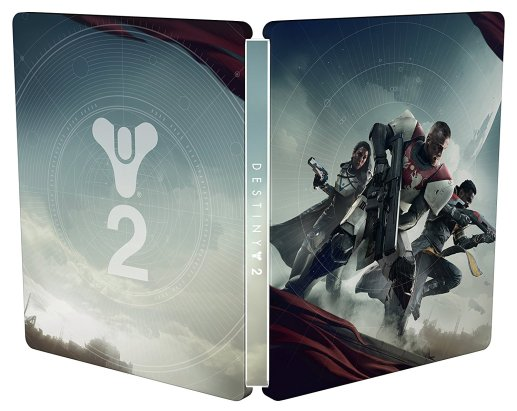 Steelbook di Destiny 2 - Fronte retro