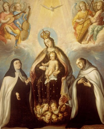873px-Juan_Rodríguez_Juárez_-_The_Virgin_of_the_Carmen_with_Saint_Theresa_and_Saint_John_of_the_Cross_-_Google_Art_Project