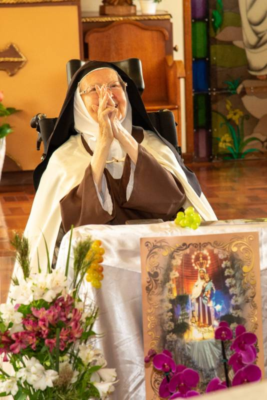 70 anos de Vida Religiosa Irmã Maria Stella-14