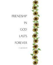MC-778 FRIENDSHIP IN GOD