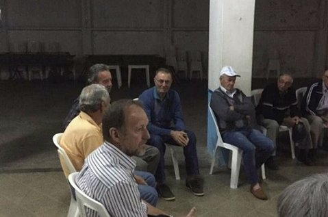 El miércoles llegaron a Ombúes de Lavalle integrantes de la ... - Carmelo Portal