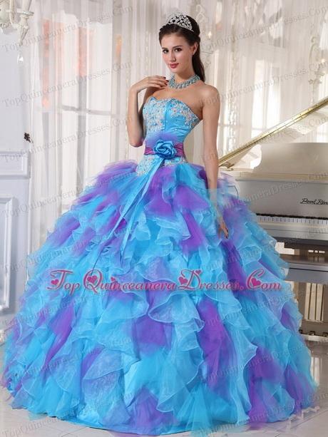 Dresses Birthday 15 Aqua