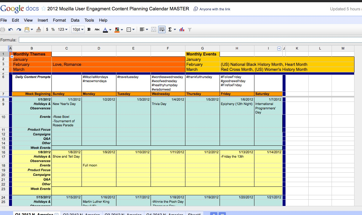 Content Calendar Carmens Content Contemplations