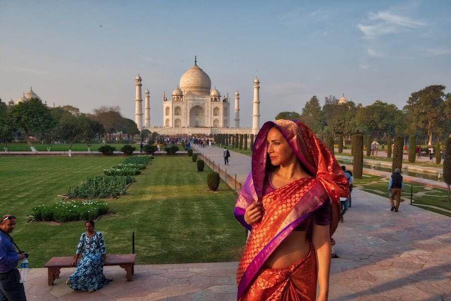 7 Maravillas del Mundo - Taj Mahal