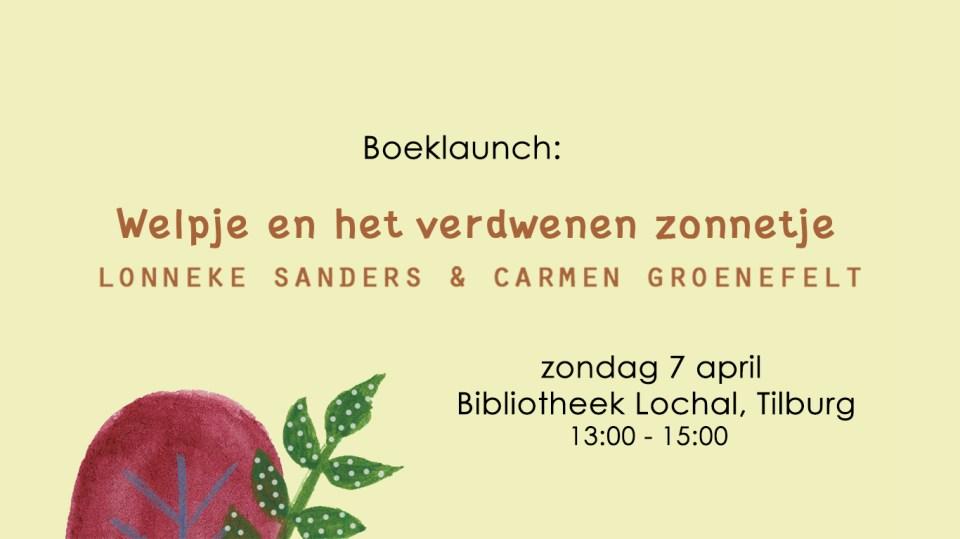 7 april: een nieuw kinderboek!