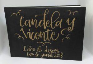 Libro de deseos para boda