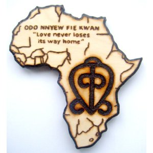 """The adinkra symbol for the """"Power of Love."""""""