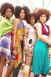 The Cast of Afro City