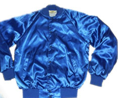 Imagine this Jacket... with sequin&rhinestone roller skate emblems all over!