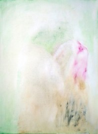 Rose air Oil on wood 35x26 cms