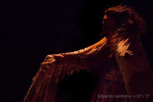 Carmen la Talegona en Oro Molido / foto: Eduardo Sardinha
