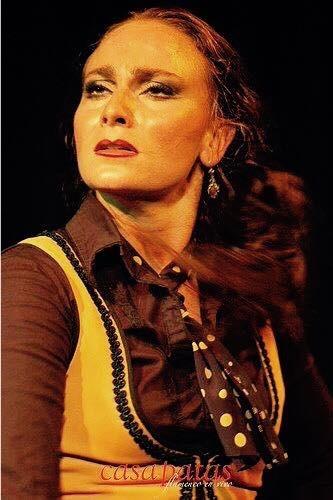 Carmen La Talegona en el Tablado Casa Patas