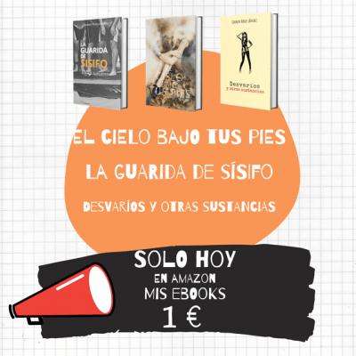 Promoción ebooks de Carmen Navas Sánchez