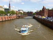 Hafenrundfahrts-Boot