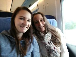 Zugfahrt im ICE :)