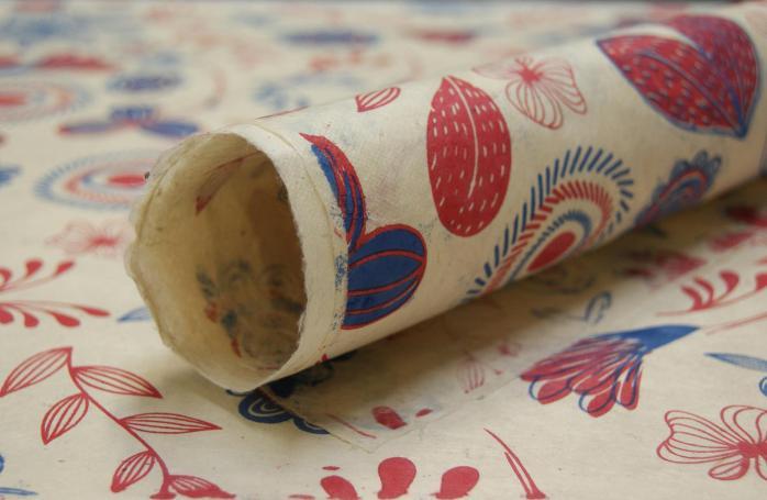floral lotka handmade paper