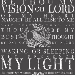 by thou my vision