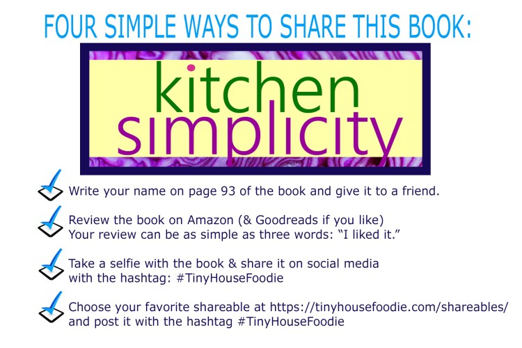 4 ways to share this book - BIG