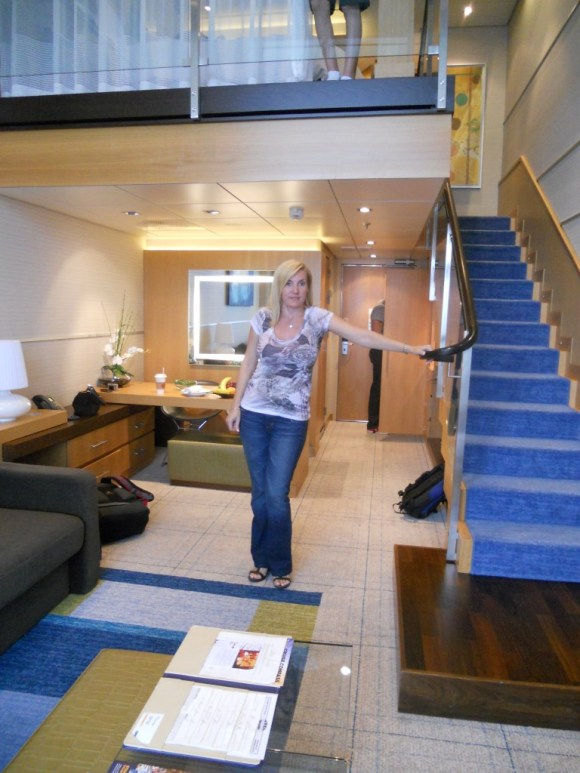 First Floor of the Royal Loft Suite -The Oasis of the Seas