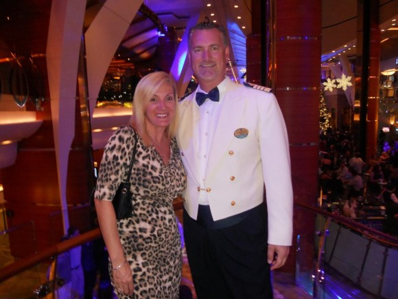 Captain Trym Selvag of Oasis of the Seas
