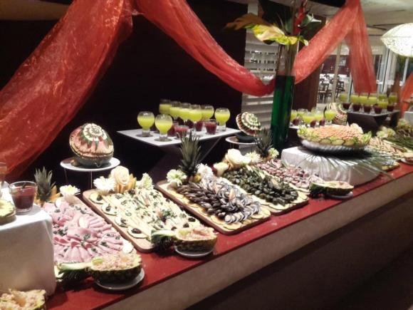 Club Med La Caravelle Buffet, Club Med Guadeloupe