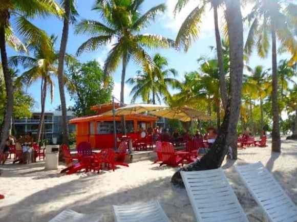 Mango Bar Club Med La Caravelle, Guadeloupe