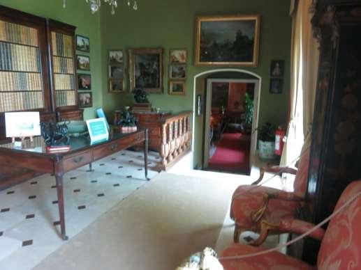 Inside Villa del Balbianello, Lake Como