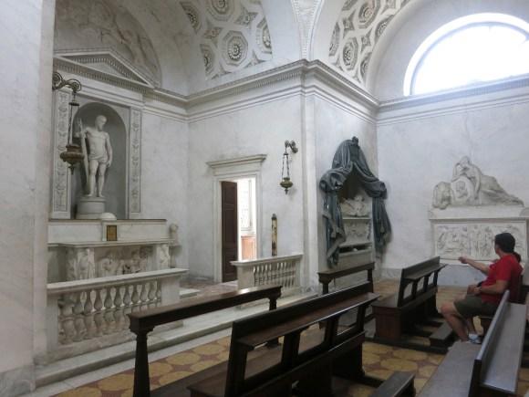 Villa Melzi inside the Family Chapel,  Bellagio, Lake Como