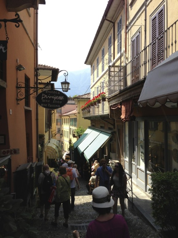 Steps in the streets of Bellagio, Lake Como