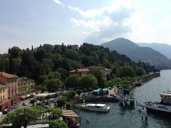 View from Hotel Metropole of  Bellagio